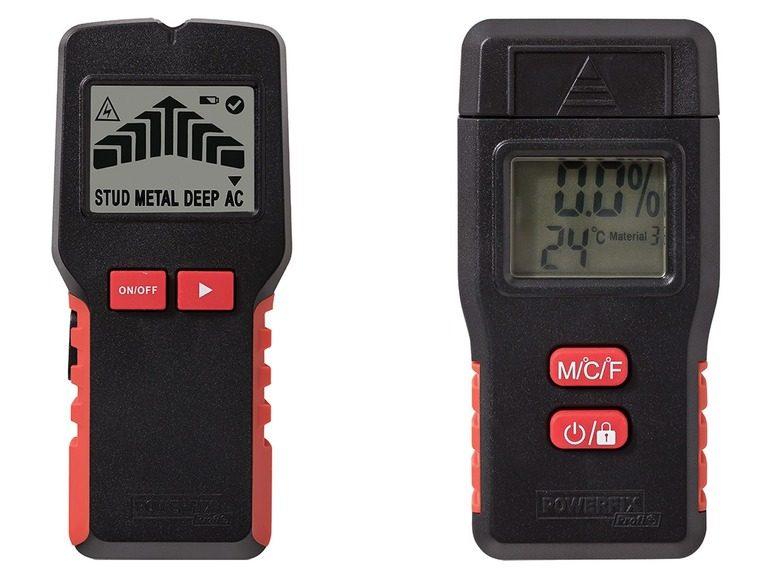 213e1c6360be9 Multifunkčný detektor/merač vlhkosti Powerfix Profi